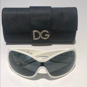 Dolce & Gabbana women's white sunglasses DG6034-S